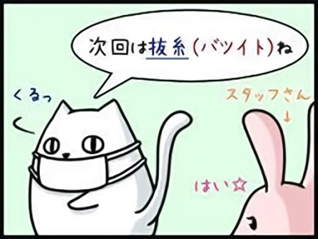 抜糸・仮歯調整